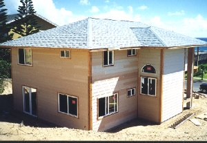 [Completion of siding]