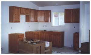[Kitchen cabinets]