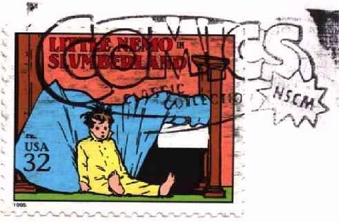Stamp Honoring Comics