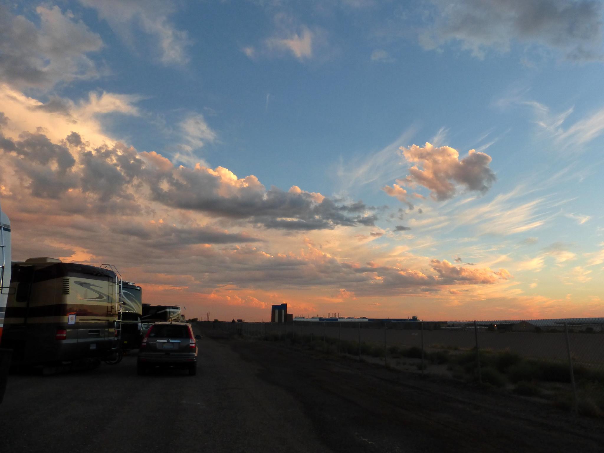 Sunrise, Albuquerque
