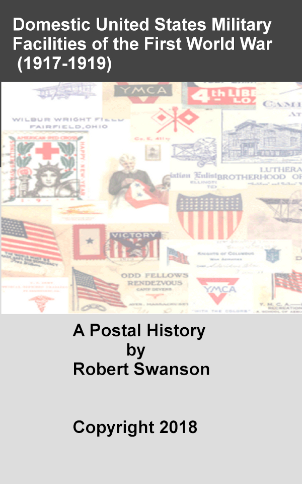 cover 2nd edition of domestic us military facilities of the first world war by bob swanson