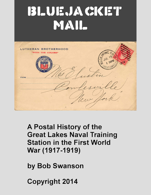 cover bluejacket mail by bob swanson