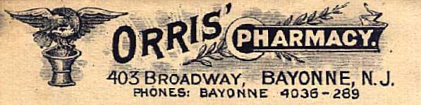 [Early Return Address Label, 1929]