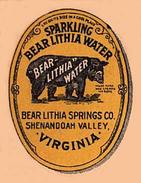 [Bear Lithia Water Cover]