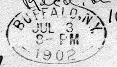 [oval postmark]