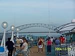 [approaching bridge]