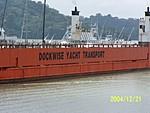 [ship in gatun lake]