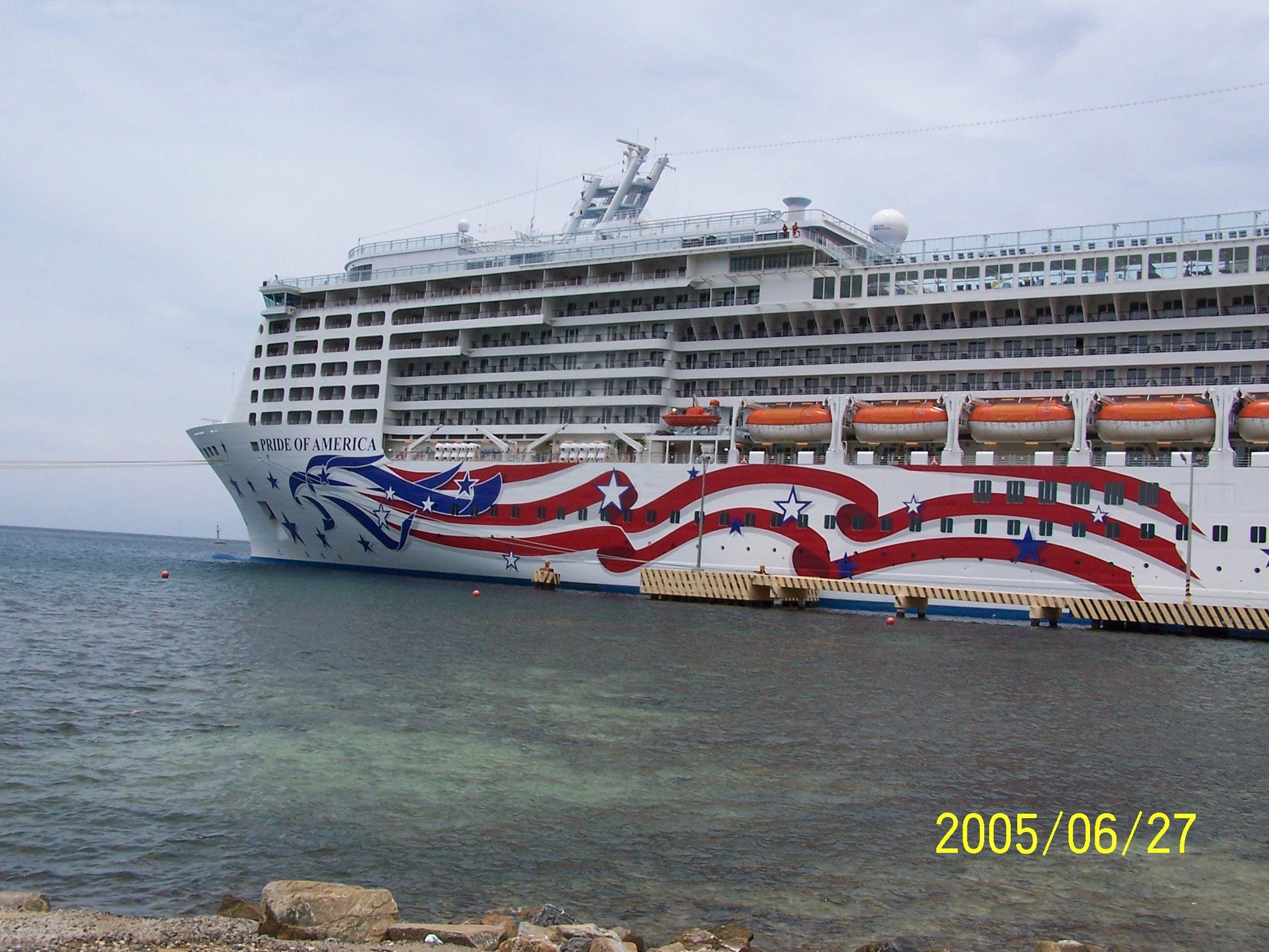 pride of america at roatan