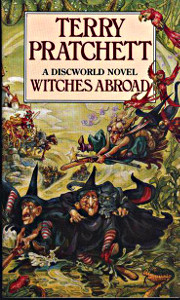 [cover for Pratchett book]