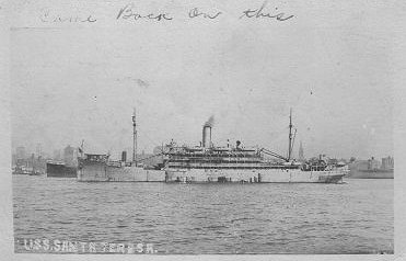 Wwi Troopship Picture Postcards Not Jwb