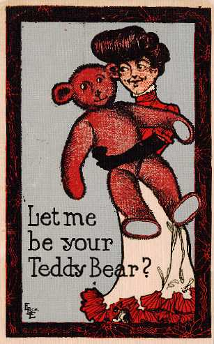 [Teddy Bear Postcard]