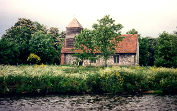 [Bisham Abbey (Still Has Norman Tower)]