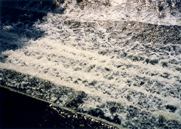 [Another Spillway With Glistening Water]