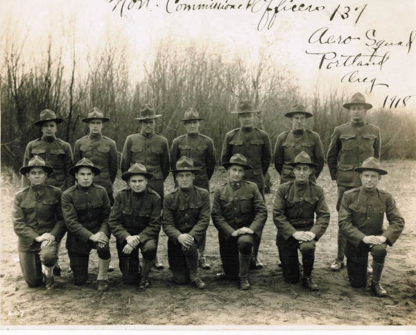 Group Photo of Non-Commissioned Officers of the 137th Spruce