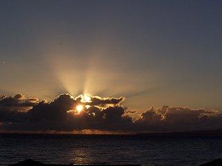 [Sunrise August 11, 2005                     ]