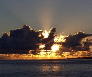 [Sunrise August 22, 2005                     ]