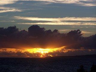 [Sunrise August 31, 2005                     ]