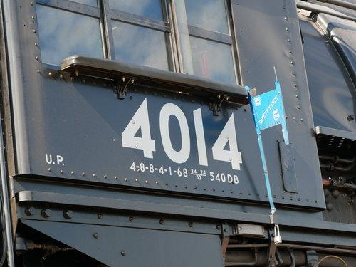 [Union Pacific 4014 Locomotive Cab]