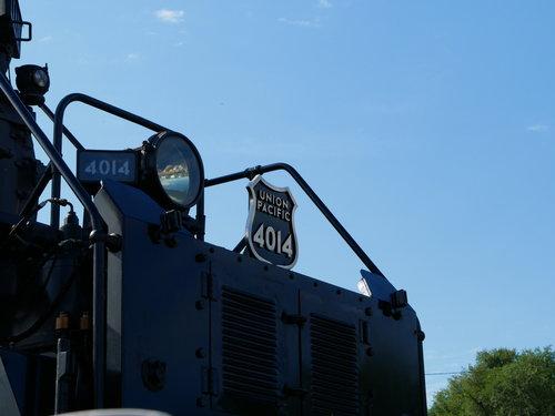 [Union Pacific 4014 Locomotive Front]