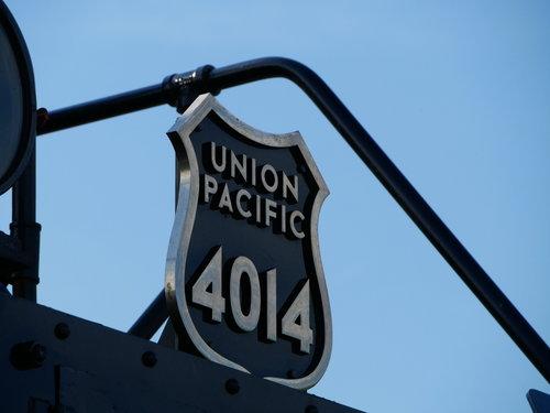 [Union Pacific 4014 Locomotive (name plaque on front)]