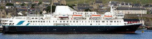 [Ocean Endeavour in Harbor (adventure ship)]