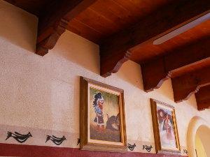 [Pete's Restaurant Interior]