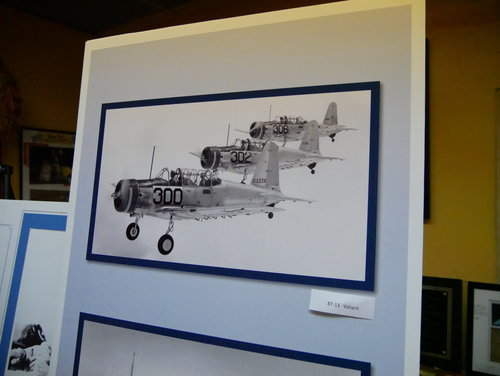 [Historic display at Pinal Airpark [it was an Army Air Corps base in WWII]]