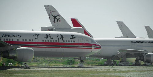 [Shanghai Airlines and Global Airlines (DC10)]